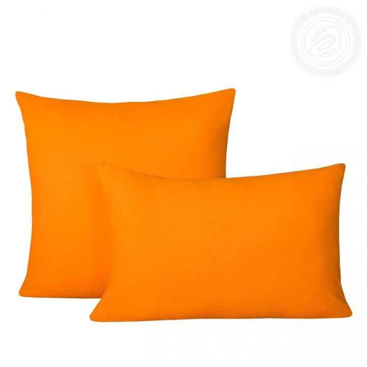 Комплект наволочек на молнии 70*70 Апельсин