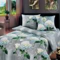 Постельное белье - Белые розы