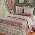 Постельное белье - Венецианские кружева (розовый)
