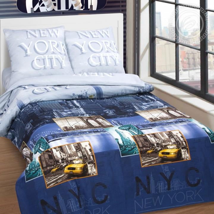 Постельное белье - Нью-Йорк