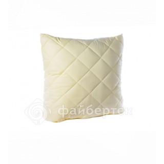 Подушка с наполнителем Файбертек (однотонная)