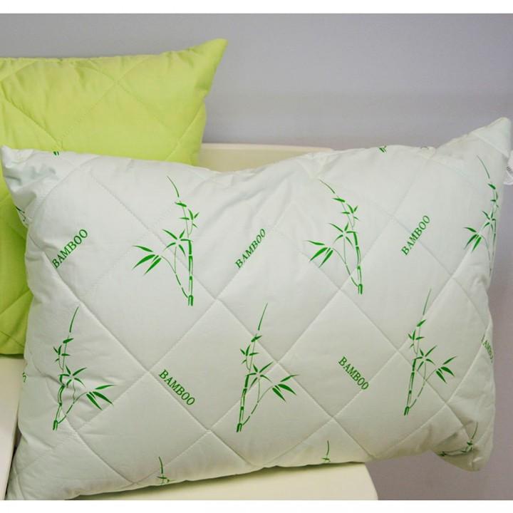 Подушка с наполнителем Бамбук (сатин)
