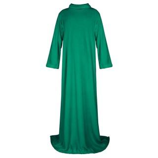 Плед из коралфлиса с рукавами (зеленый)