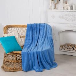 Плед махровый Velvet Синий