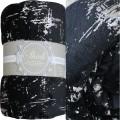 Плед Absolute тиснение коллекция Шик черный