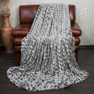 Плед из искусственного меха «Серебристая лань»