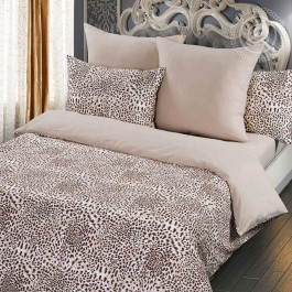 Пододеяльник на молнии Леопард 1,5-спальный