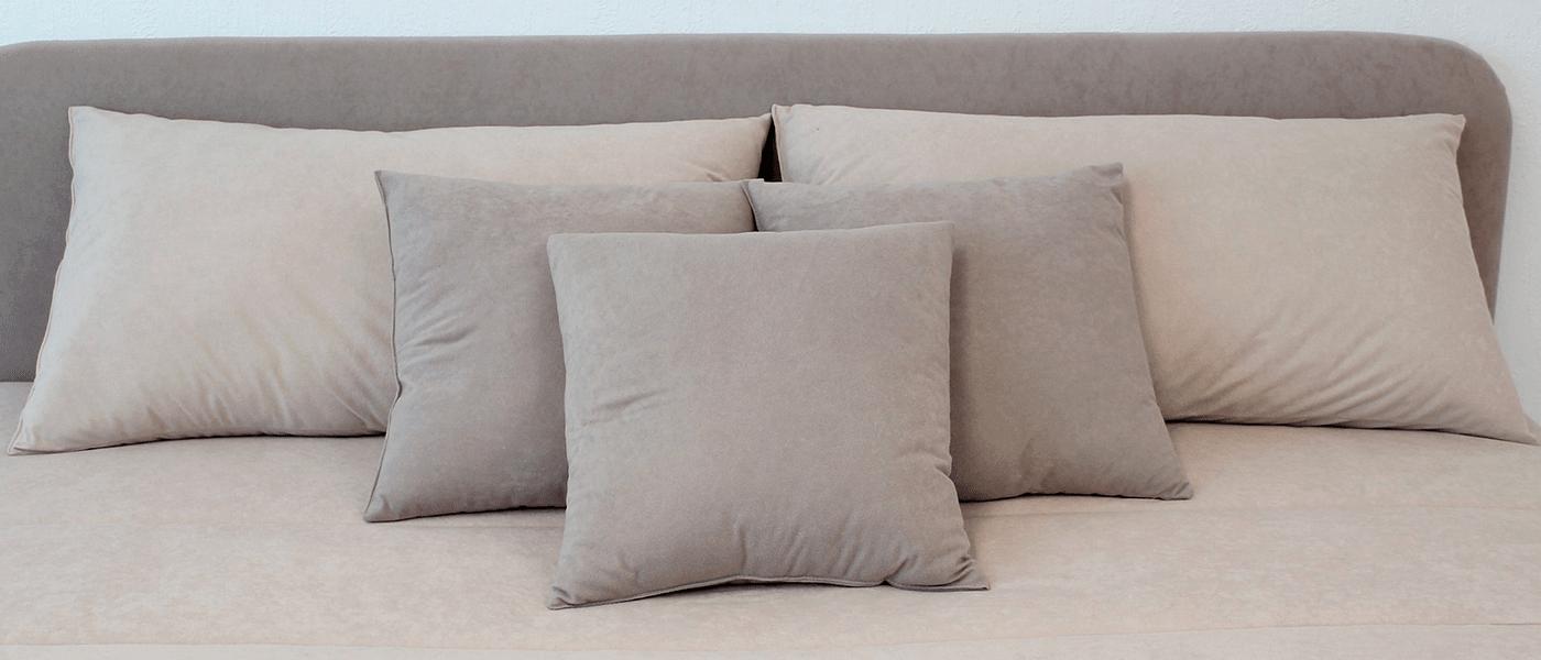 Гипоаллергенные подушки из 100% хлопка