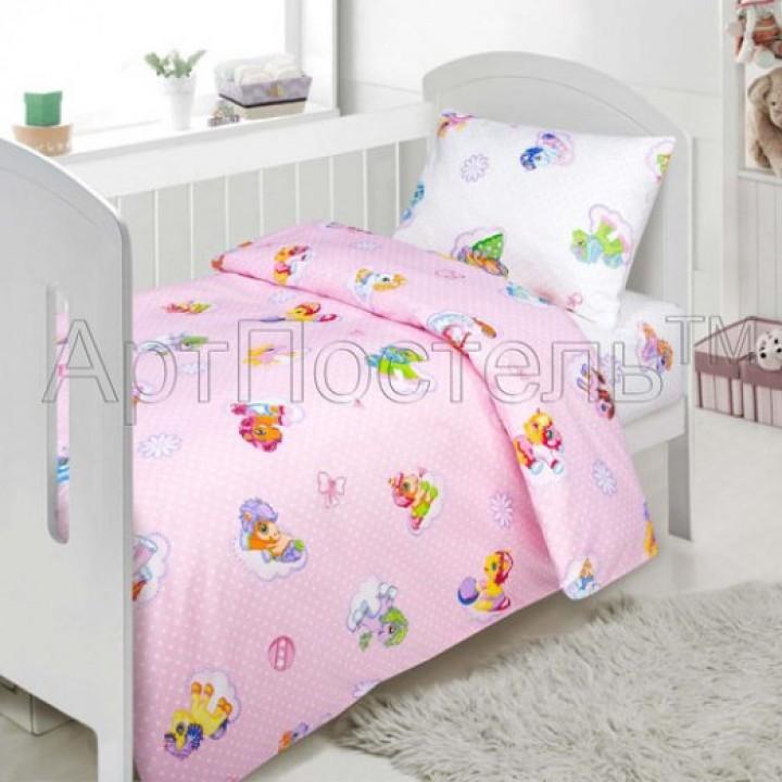 Постельное белье - Бусинка (розовый)