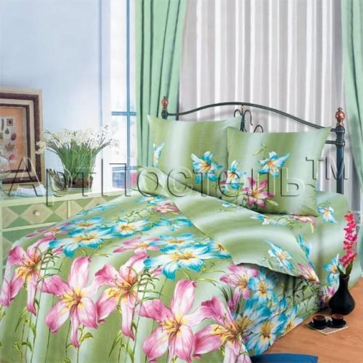 Постельное белье - Афродита (зеленый)