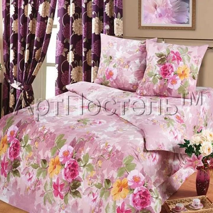 Постельное белье - Аромат лета (розовый)