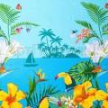 """Полотенце вафельное """"Багамы"""""""