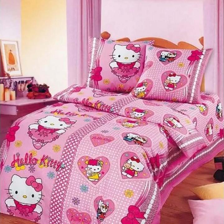 Постельное белье - Бантики (в детскую кроватку)
