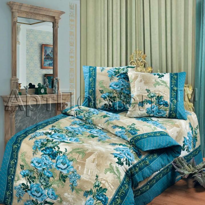 Постельное белье - Гобелен (синий)