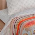 Постельное белье - Гортензия рис. 10595-1