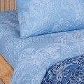 Постельное белье - Синий узор